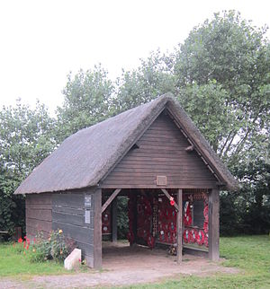 Wormhoudt massacre - Rebuilt barn (cowshed), Wormhoudt massacre site