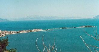 Isparta Province - Image: Lake Egirdir