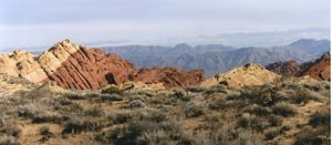 Lake Mead National Recreation Area - Rock formations near Echo Bay