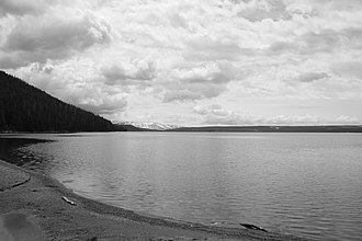 Shoshone Lake - Image: Lake Shoshone