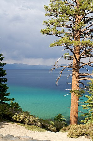 D. L. Bliss State Park - Image: Lake tahoe bliss state park 2