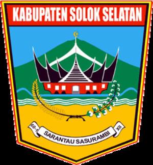 South Solok Regency - Image: Lambang Kabupaten Solok Selatan