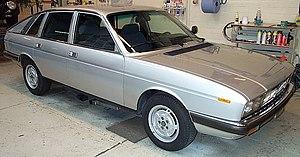 Lancia Gamma - Image: Lancia Gamma Berlina 1980