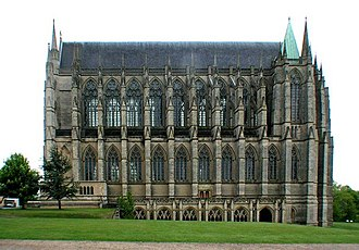 Grade I listed buildings in West Sussex - Image: Lancing College Chapel