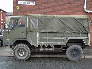 Land Rover 101 Forward Control - Side View.
