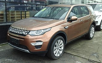 Chery Jaguar Land Rover - Image: Land Rover Discovery Sport 01 China 2016 04 16