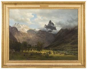 Landscape from Romsdalen
