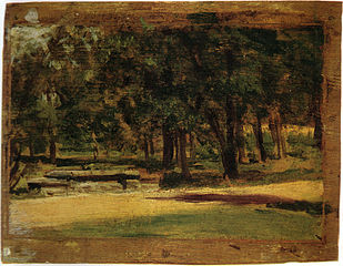 Fairman Rogers Four-in-Hand: Landscape Study of Fairmount Park