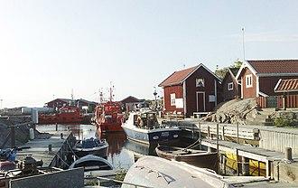 Stockholm archipelago - Image: Landsort lotshamnen