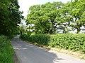 Lane near Clarkham Cross - geograph.org.uk - 841226.jpg