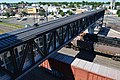 Lansdale station pedestrian bridge from above, July 2017.jpg