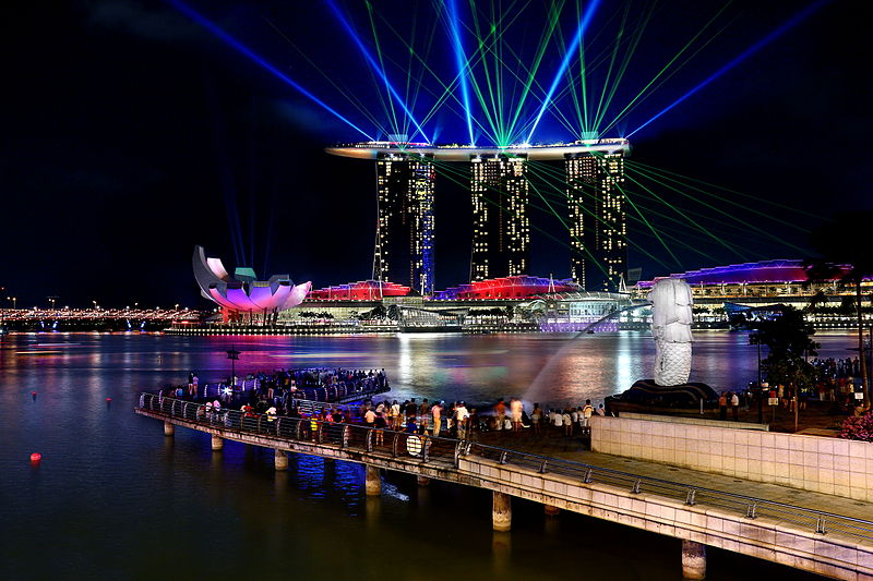 merlion park now discover the true colours of this city