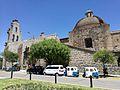 Lateral de l'església de la Recoleta de Cajamarca des de l'Avenida de los Héroes02.jpg