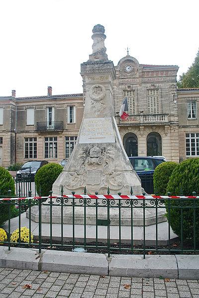 Lavérune (Hérault) - monument aux morts
