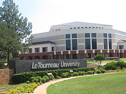 LeTourneau University, Longview, TX, entrance IMG 4004.JPG