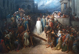 Christ Leaving the Court