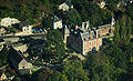 Le Clos Lucé mansion, aerial view cropped.jpg