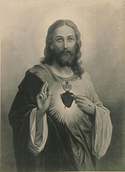 Le Sacre Coeur de Jesus (HS85-10-32787)