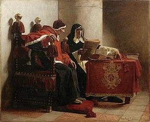 Le Pape et l'Inquisiteur