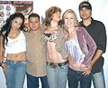 Leah Lexington, Luis Depaz, Tyla Winn, girl, Sasha at Evil Angel Party 1.jpg
