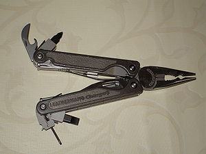 Technological convergence - A converged mechanical tool, the multitool. Within one device, it provides many tools.