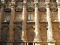 Lebanon, Baalbek, Ancient temple complex of Roman Heliopolis, Roman columns.jpg