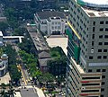 Legislative Yuan view partially blocked by National Taiwan University Children's Hospital 20050702.jpg