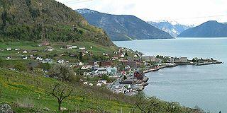 Leikanger Former municipality in Sogn og Fjordane, Norway