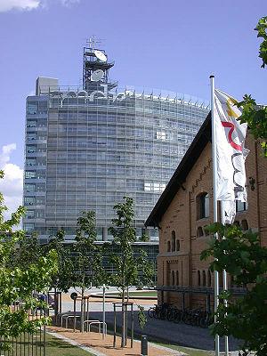 Central Germany (cultural area) - MDR (Mitteldeutscher Rundfunk) headquarters, Leipzig