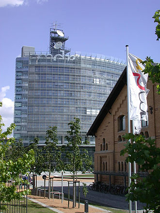 Central Germany (cultural area) - MDR (Mitteldeutscher Rundfunk) headquarters, Leipzig