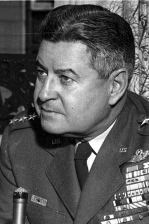 Strategic Air Command Elite Guard - U.S. Air Force General Curtis E. LeMay the founder the Strategic Air Command and the Strategic Air Command Elite Guards