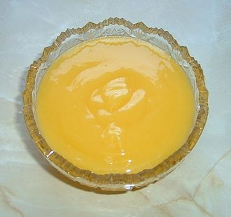Fruit curd - Homemade lemon curd