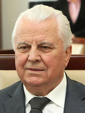 Leonid Kravchuk - Leonid Makarovych Kravchuk in 2013