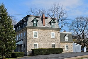Wernersville, Pennsylvania - The Lerch Tavern, a historic site on Penn Avenue