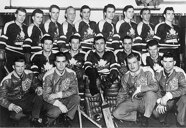 Lethbridge Maple Leafs Hockey Club Lethbridge Maple Leafs Hockey Club, World's Amateur Champions (3499500992).jpg