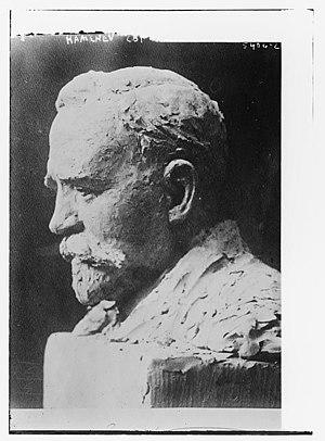 Lev Kamenev - Bust of Kamenev by Clare Sheridan