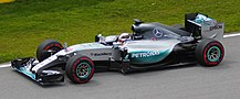 F1 W06 Hybrid, which won Mercedes the Constructors' Championship
