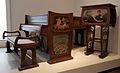 Liège, Grand Curtius, piano en style art nouveau (Serrurier, meubles; Berchmans, peintures, 1902).JPG