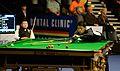 Liang Wenbo and Li Hang at Snooker German Masters (DerHexer) 2015-02-05 01.jpg