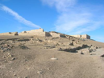 Ciudad ibero-romana de Libisosa (Lezuza, Albacete). Foto.- F.J. García Mariana