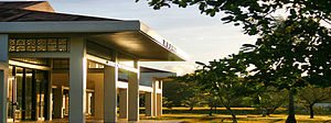 University of Guam - RFK Library at sunset