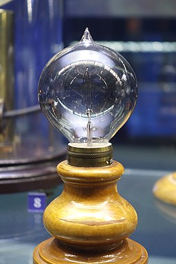 Light bulb by Lewis Latimer, 1883 - Museum of Science and Industry (Chicago) - DSC06448