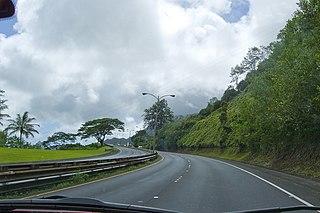 highway in Hawaii