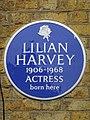 Lilian Harvey 1906-1968 Actress born here.jpg