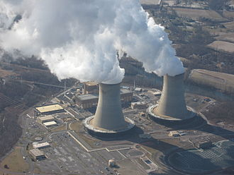 Limerick Generating Station - Image: Limerick Power Plant