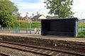 Limited seating, Gwersyllt railway station (geograph 4024864).jpg