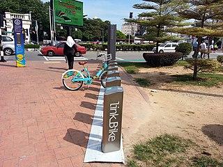 bicycle sharing company