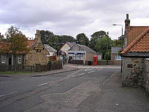 Longniddry - Image: Links Road, Longniddry