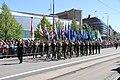 Lippujuhlan päivän 2017 paraati 007 veteraanijärjestöjen lippulinna.JPG
