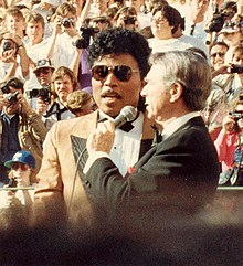 Little Richard , en 1988 .